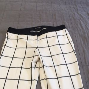 NWT express columnist window pane Pants 10 r